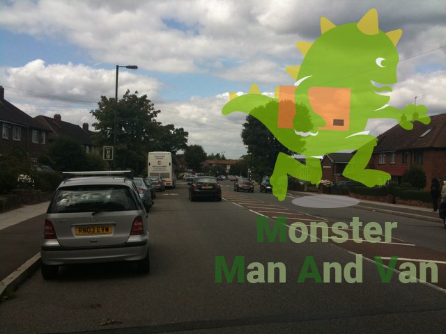 Morden Man with a Van