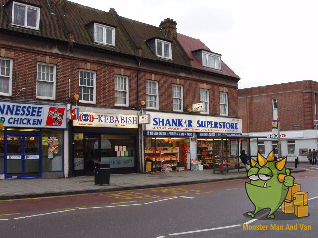 Shops on Northolt Road
