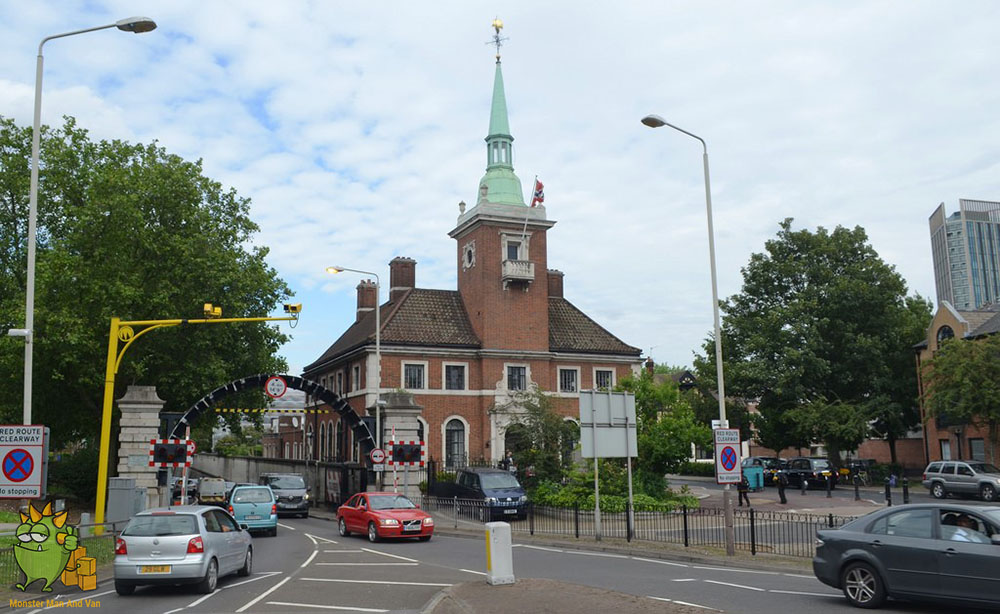Norwegian church in Rotherhithe