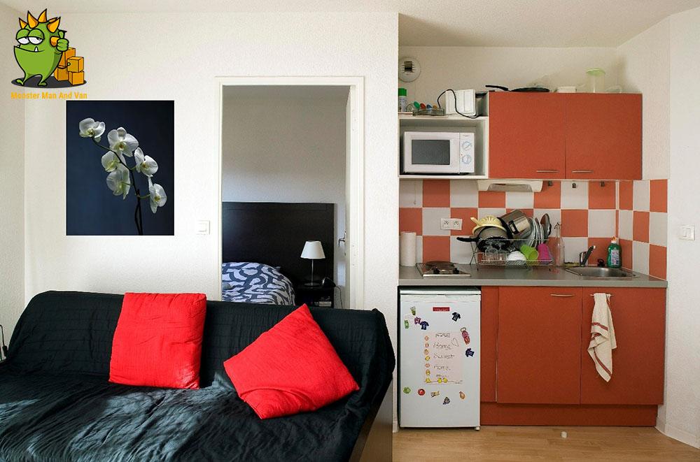 A small flat