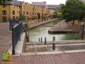 Canals in Wapping